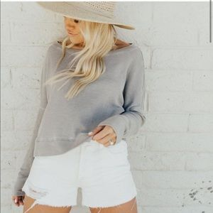 Carly Jean Los Angeles June High Rise Shorts